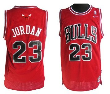 sale retailer d6b7e ec64f Amazon.com : Nike Michael Jordan Jersey/RED - Size Large ...