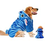 Pet Costume,Gimilife Disney Stitch Cartoon Pet Custumes Coat,Pet Outfit,Pet Pajamas Clothes Hoodie Coat Apparel Puppy Winter Coat For Small Medium Large Dogs and Cats,Suitable for Halloween Christmas