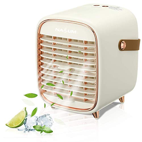 Portable Air Conditioner, NASUM Air Cooler with 3 Speeds, Cooling fan with Atomization & Spray timing function, Mini AC…
