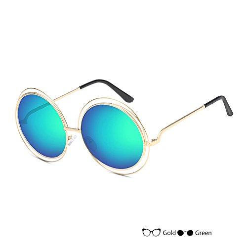 Señor Gafas Oval De Negro De Lujo Mujer De Gafas Vintage G Sol Sol L Redondas Gafas Del TIANLIANG04 wUqIpBvn
