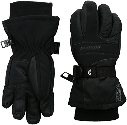 Gordini Black Glove (Gordini Youth Aquabloc III Junior Gloves, Black, Medium)
