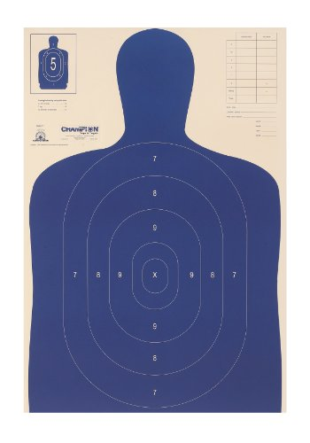 (Champion Traps and Targets, Police Silhouette Target, B-27 E (100 Pack))