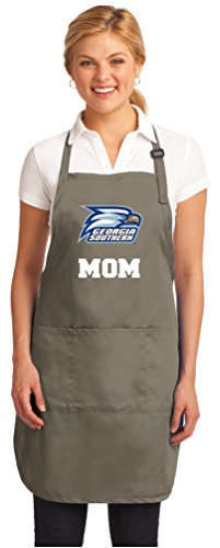 Broad Bay Deluxe Georgia Southern Mom Apron Official Georgia Southern Mom Logo Aprons by Broad Bay