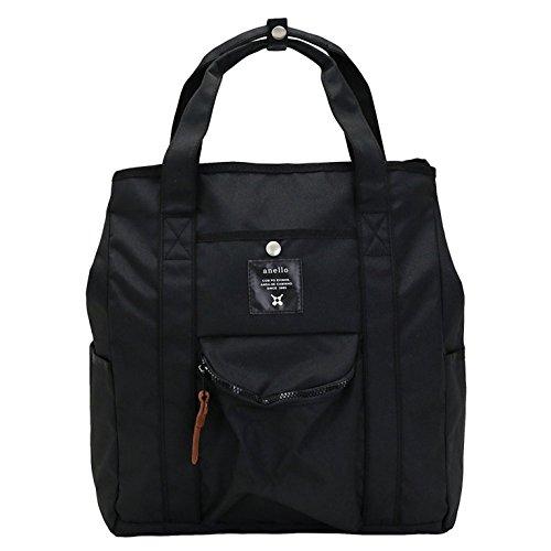Anello Japan Mini Backpack Tote BLACK - 7