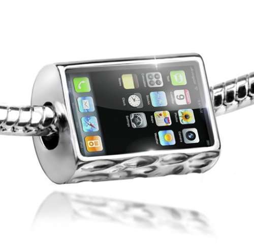 NEONBLOND Charm Cell Phone, Cellphone - Bead Fit All European Bracelets