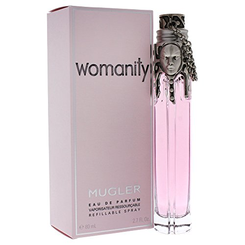 Womanity by Thierry Mugler for Women, Eau de Parfum Refillable Spray, 2.7 Ounce ()