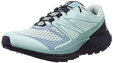 Salomon Sense Escape 2 W, Zapatillas de Trail Running para Mujer, Azul (Icy Morn/Navy Blazer/Parachute Purple), 42 EU