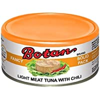 Botan Light Meat Tuna With Chili, 185g - Pack of 1