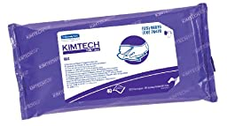Kimberly-Clark Kimtech 06070 Pure Disposable Wiper with W4 Pre Saturated, 11\