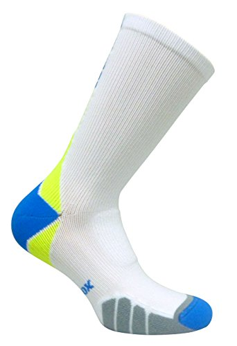 Vitalsox Bacteria Stopper & Odor Control Socks, Large, White VT3810