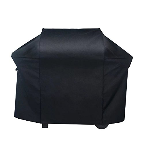 - NEXTCOVER Premium Grill Cover-58 inch 600D Canvas Heavy Duty Waterproof Fade Resistant BBQ Grill Cover for Weber (Weber Genesis II Cover),Char Broil, Holland, Jenn Air, Brinkmann.- Black N21G805