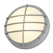 Slv bulan grid - Luminaria gris/plata