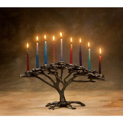 Tree of Life Menorah Scott Nelles