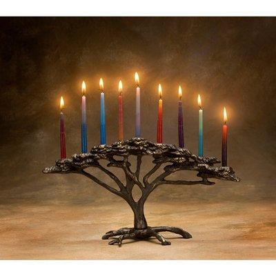 Scott Nelles Tree of Life Menorah