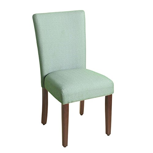Decorative Desk Chairs - HomePop K6805-F2092 Parsons Classic Dining Chair Room Tables, Single Pack, Teal