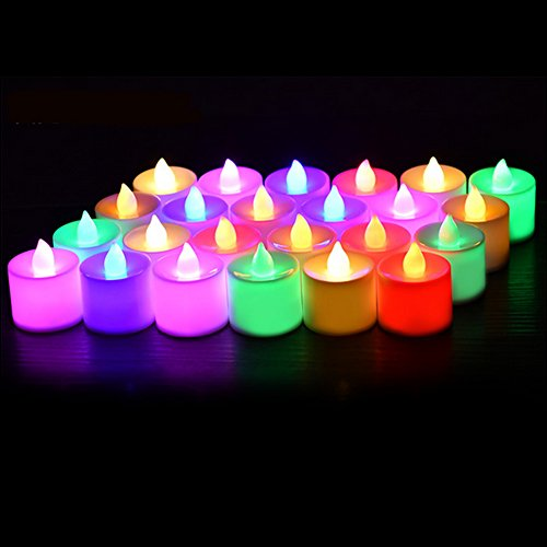 Colored Led Candle Light in Florida - 2