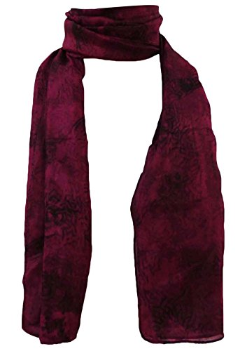 70 Scarf Scarves Pure Aboutyou nero x Head Women's Abstract 20 e viola pollici Hijab Silk Printed Scialle qFfXRwv