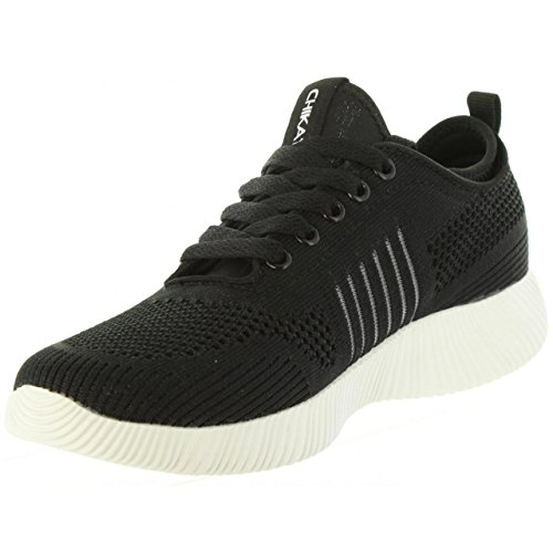 Negro Mujer Zapatillas Talla 02 ICHIA Deporte CHIKA10 de 41 wzzZEHqY
