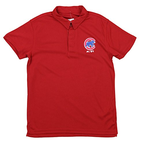 - Outerstuff MLB Boy's Youth Performance Polo, Chicago Cubs Small (8)