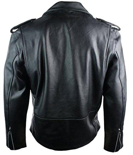 bc59bd6e4b09 high-quality Classyak Men's Fashion Real Leather High Quality Brando Jacket