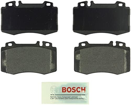 2005 Fits Mercedes-Benz ML500 Base Front Ceramic Brake Pads with Hardware Kits and Two Years Manufacturer Warranty