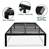 HAAGEEP Heavy Duty King Bed Frame No Box Spring