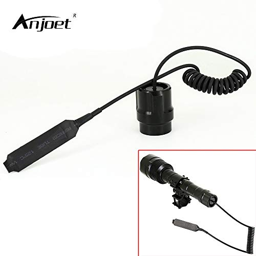 (Isali ANJOET 3t6 Flashlight Remote Control Tail Cap Tail Switch 3800LM 6000LM LED Torch Tactical flashlamp Dedicated Pressure Switch)