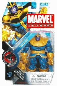 Marvel Universe 3 3/4 Inch Series 11 Action Figure #34 Thanos (Best Marvel Universe Figures)