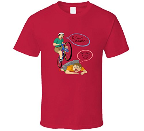 Happy Wheels T Shirt Unisex Funny T-Shirt Cute Fun Novelty Game App Shirt New! 2XL Red