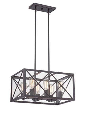 Designers Fountain Contemporary Chandelier - Designers Fountain 87386-SB High Line 6 Light Chandelier, 14