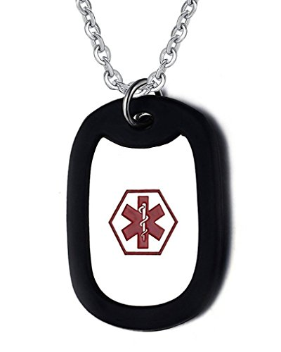 Engraved Medical Necklace - 6