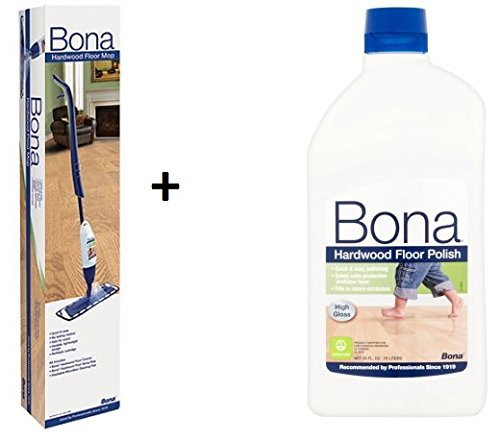 Good Bona Hardwood Floor Mop Kit With Bona Swedish Formula