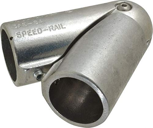 Hollaender 9 Pack 1-1//2 Inch Pipe Aluminum Alloy Pipe Rail Fitting