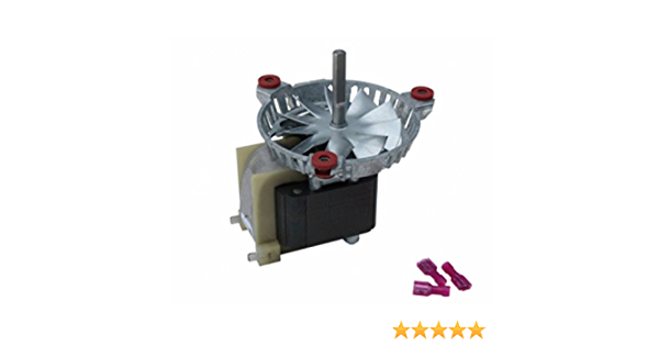PelletStovePro Harman P-68 Pellet Exhaust Combustion Motor w// Gasket 3-21-08639
