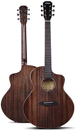 ギター 初心者Professionalのアコースティックギターローズウッドギター 入門 ギター (Color : Coffee, Size : 41 inches)
