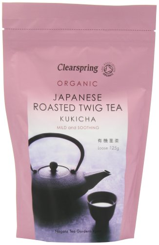 Clearspring Organic Kukicha Twig Loose Tea 125g (Pack of 3)
