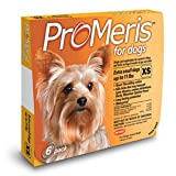 ProMeris for Extra Small Dogs up to 11 Pounds 6 Doses USA Version / EPA Registered, My Pet Supplies