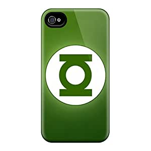 Iphone 6 CBv14253GfKX Custom Lifelike Green Lantern Movie Pattern Scratch Resistant Cell-phone Hard Covers -DannyLCHEUNG