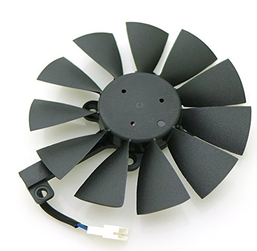Tebuyus T129215SU 12V 0.5A 87mm 4 Pin Graphics Card Cooling Fan For GTX980Ti GTX 1070 GTX 1080 RX 480 RX390 Replacement Video Card Cooling Fan by Tebuyus (Image #1)