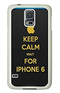 designer Samsung Galaxy S5 covers Keep Calm Funny Pictures 6s PC White Custom Samsung Galaxy S5 Case Cover