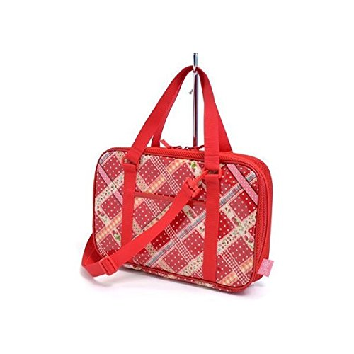 Wrapped Kids calligraphy, calligraphy bags rated on style ribbon to check (only bag) (Red) made in Japan N2202400 (japan import)