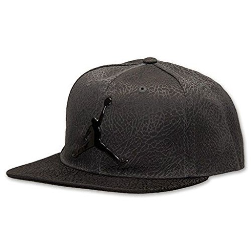 Air Jordan Jumpman Elephant Print Black Adjustable Youth Boy's Cap 8/20