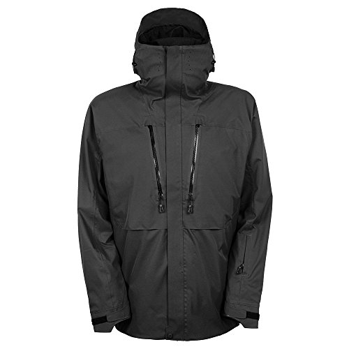 686 Ether Down Thermagraph Snowboard Jacket Mens Sz L - 686 Snowboard