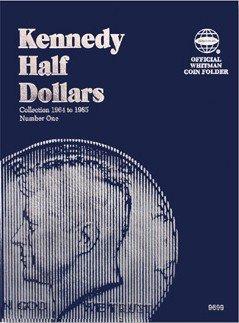 Half Dollar Folder,Kennedy #1,1964-85