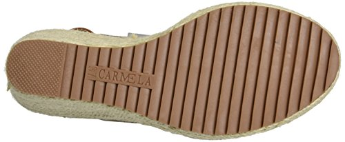XTI Taupe Suede Ladies Sandals . - Plataforma Mujer Marrón (Taupe)