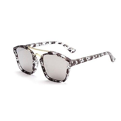 Gafas sol mujer 水墨框白水银 para de Godea n8wq7xzOz