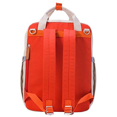 sunveno multifuncional momia bolsa bebé pañales mochila pañal chainging mochila con cambiador rojo rosso rosso