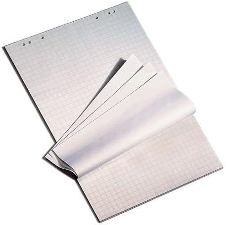 """""""Die Dicken"""" Flipchart-Blöcke 80 g/qm kariert & blanko 5x20 Blatt holzfrei Flipchart Papier"""