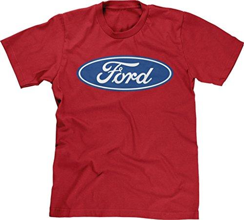 Blittzen Mens Blue Ford Logo, M, - Legendary Car Motor
