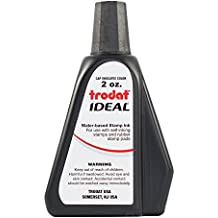 Trodat 52734  Ideal Premium Replacement Ink for Use with Most Self Inking and Rubber Stamp Pads
